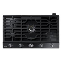 "36"" Gas Cooktop with 22K BTU Dual Power Burner (2016)"
