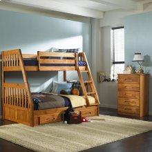 3 Drawer Bunk Pedestal (sold separately)