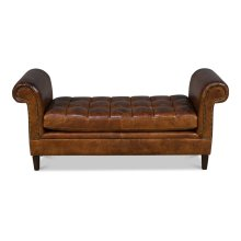 English Backless Settee