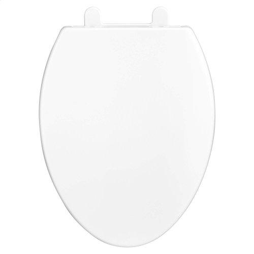 Contemporary Telescoping Elongated Luxury Toilet Seat - Canvas White