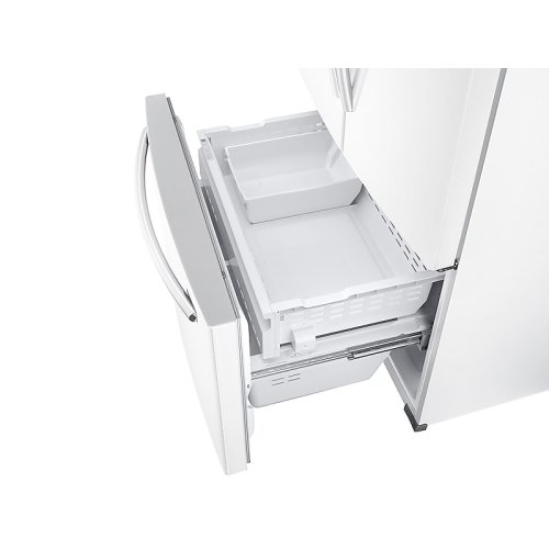 26 cu. ft. French Door Refrigerator with Twin Cooling Plus in White