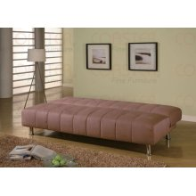 "SOFA BED,TAN 77""Lx36""Wx35-1/2""H"