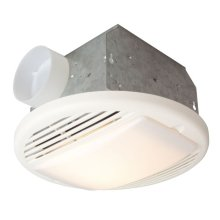 50 CFM Bathroom Exhaust Fan Light