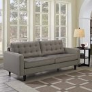 Empress Upholstered Fabric Sofa in Granite Product Image