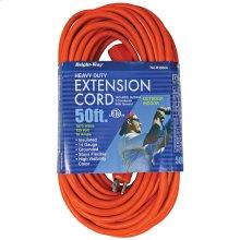 14/3 50 ft. Orange Extension Cord