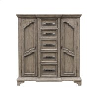 Bristol 9 Drawer Door Chest in Elm Brown Product Image