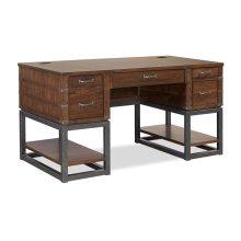 "61"" Half Ped Desk Top"