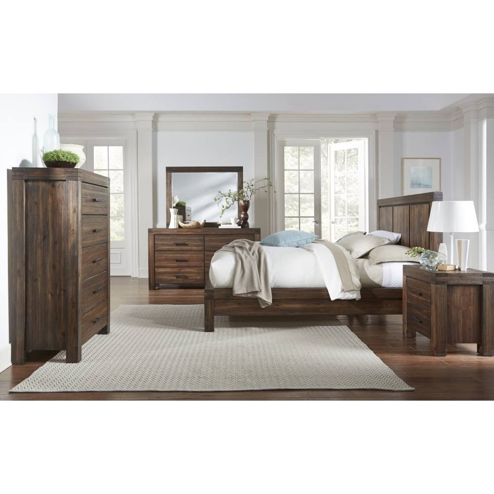 Meadow Chest with Brick Brown Finish