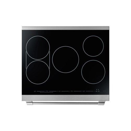 """30"""" Heritage Induction Pro Range, Silver Stainless Steel, Canada"""