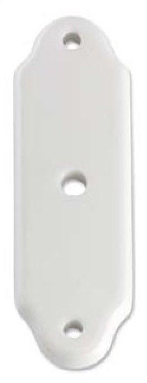 Porcelaine Cabinet Escutcheons (round hole) Product Image