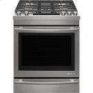 "Euro-Style 30"" Slide-In Gas Range, Euro-Style Stainless Handle Product Image"