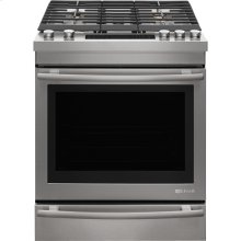 """Euro-Style 30"""" Slide-In Gas Range, Euro-Style Stainless Handle"""