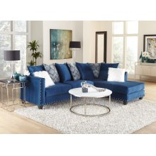 Sapphire Blue Sectional