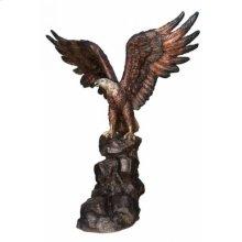 Large Eagle on Rock