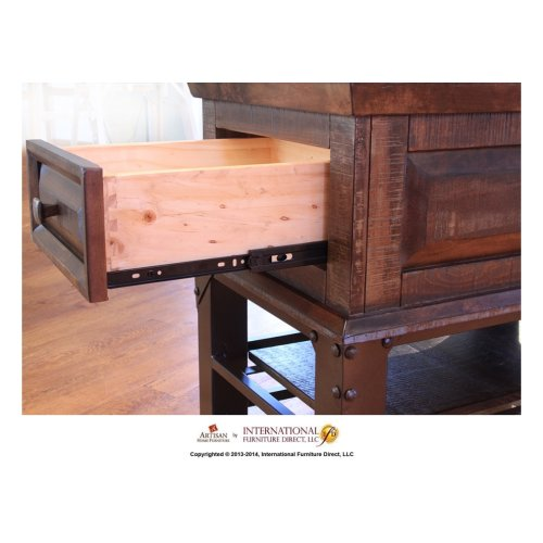 1 Drawer End Table*