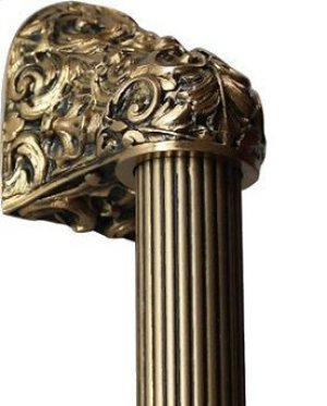 Acanthus - 24K Satin Gold Fluted Bar Product Image