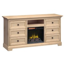 Fireplace Custom TV Console