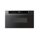 """Modernist 24"""" Microwave-In-A-Drawer, Graphite Product Image"""