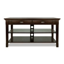 Deep Espresso Finished Wood Audio/Video Table