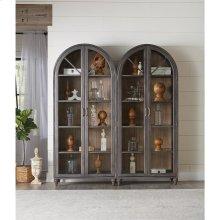 Madison - Display Cabinet - Caramel/graphite Finish