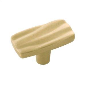 2 In. Caspian Knob - Satin Brass Product Image