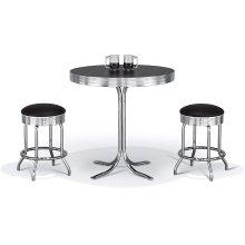 Table Base: Retro (chrome)