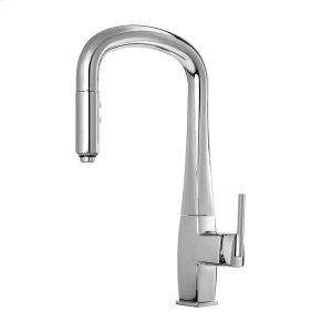 Pull Down Kitchen Faucet With 2-mode Spray Head - Chrome Product Image