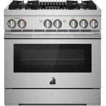 "36"" RISE™ Dual-Fuel Professional-Style Range, RISE"