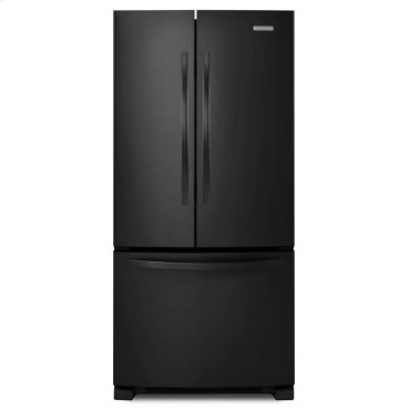 22 Cu. Ft. Standard-Depth French Door Refrigerator, Architect® Series II - Black