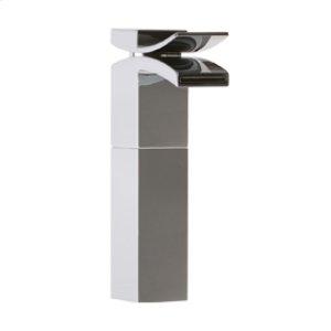 Vessel Lav Faucet High, Front Flow - Chrome Product Image