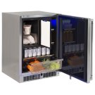 "24"" Refrigerator Freezer Combo, Left Product Image"