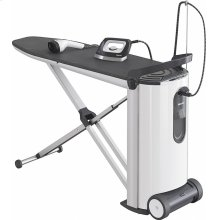B 3847 FashionMaster Steam ironing system with display and steamer for perfect ironing results and convenience.
