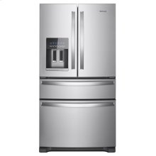 SCRATCH AND DENT 36-Inch Wide French Door Refrigerator - 25 cu. ft.