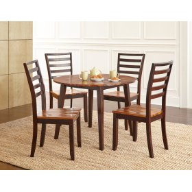 """Abaco Double Drop Leaf Table 42"""" Round"""