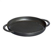 "Staub Cast Iron 10"" Pure Grill, Black Matte"