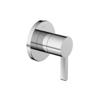 Edge motion 2-way diverter trim kit, with shutoff, chrome Product Image