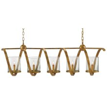Maximus Gold Chandelier