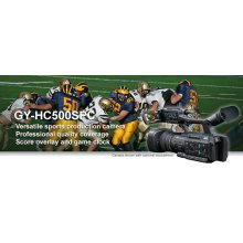 "SPORTS PRODUCTION & COACHING CONNECTED CAM"" 1-INCH CAMCORDER"
