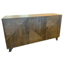 Bengal Manor Geometric Door Sideboard