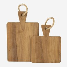 Rifle Cutting Board (Set of 2) - Rope Handle