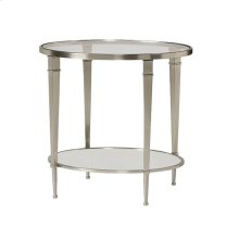 OVALE END TABLE