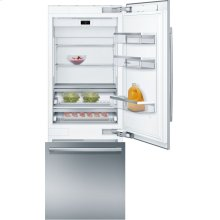 Benchmark® built-in fridge-freezer with freezer at bottom B30BB930SS