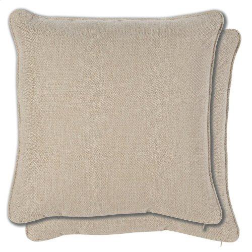 Accessories 21 Pair Sq. Welt No Pleats Pillows