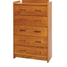 Sunset Trading Rustic Five Drawer Chest