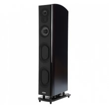 The Ultimate Floorstanding Loudspeaker in Midnight Mahogany