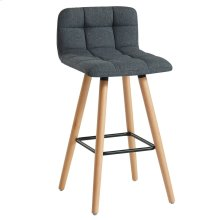 Rico 26'' Counter Stool, set of 2, in Charcoal