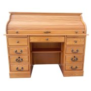 "54"" Roll Top Desk Product Image"