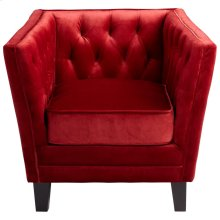 Red Prince Valiant Chair