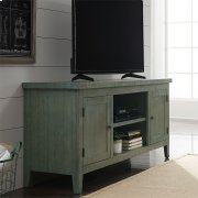 60 Inch TV Console - Green Product Image