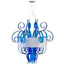 Jellyfish Cyan Lg Pndnt